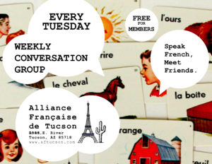 Groupe de conversation @ Alliance Francaise de Tucson | Tucson | Arizona | United States