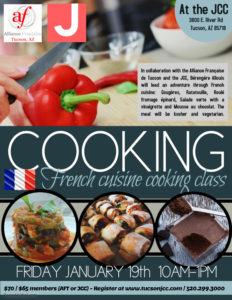 French cooking class at the JCC! @ Alliance Francaise de Tucson | Tucson | Arizona | United States